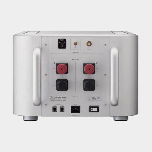 amplificator luxman b-1000f back