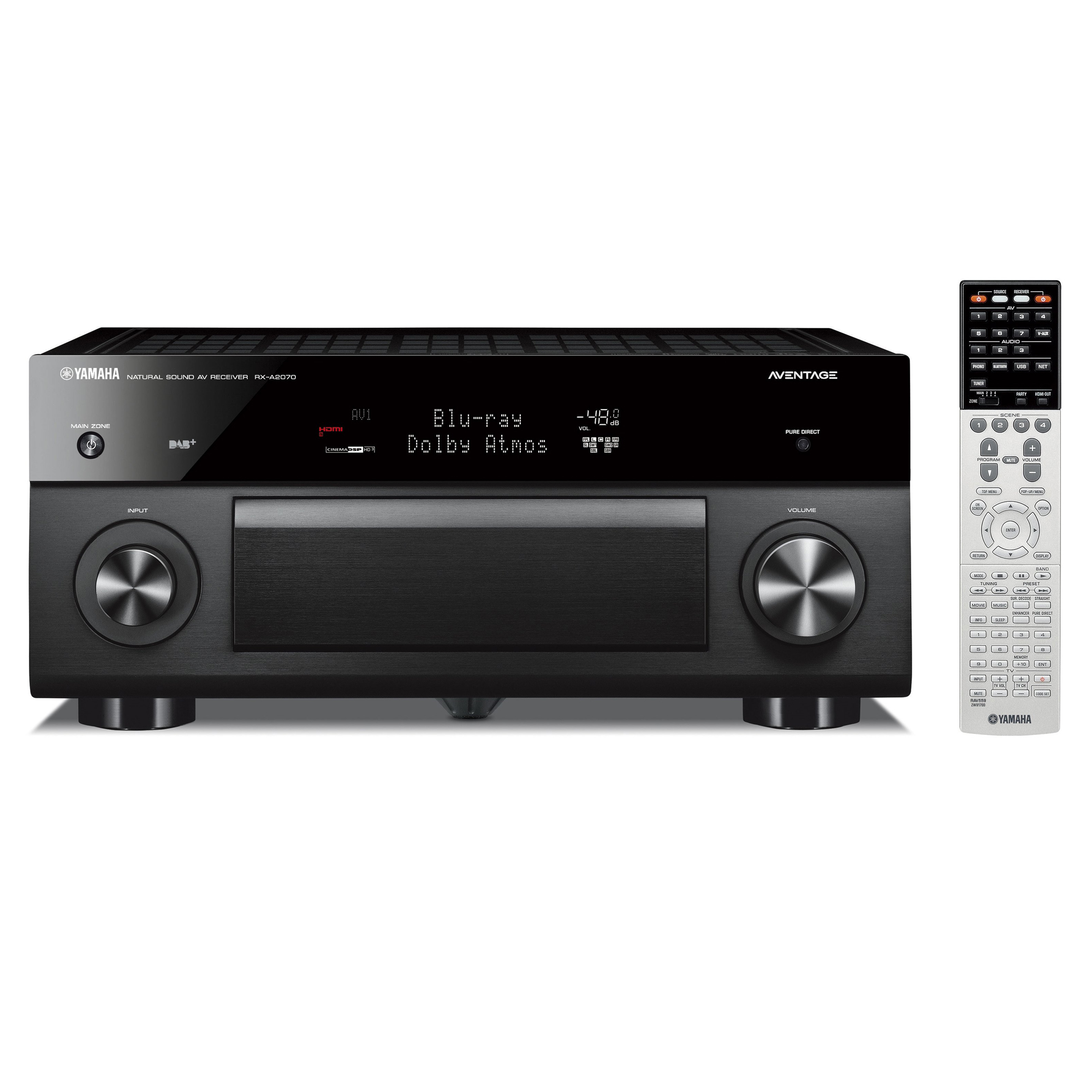 receiver aventage yamaha rx a2070 hifi expert. Black Bedroom Furniture Sets. Home Design Ideas